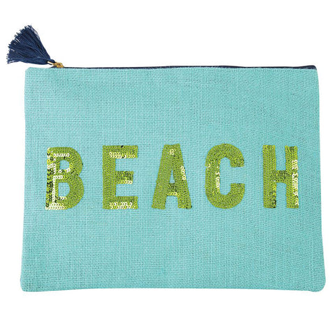 Beach Sequin Carry All Case