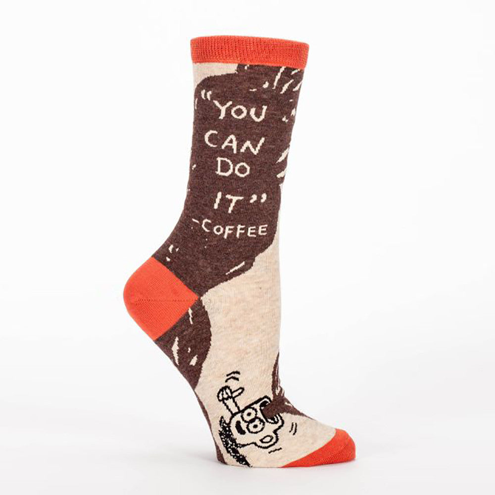 You Can Do It Coffee Women's Crew Socks