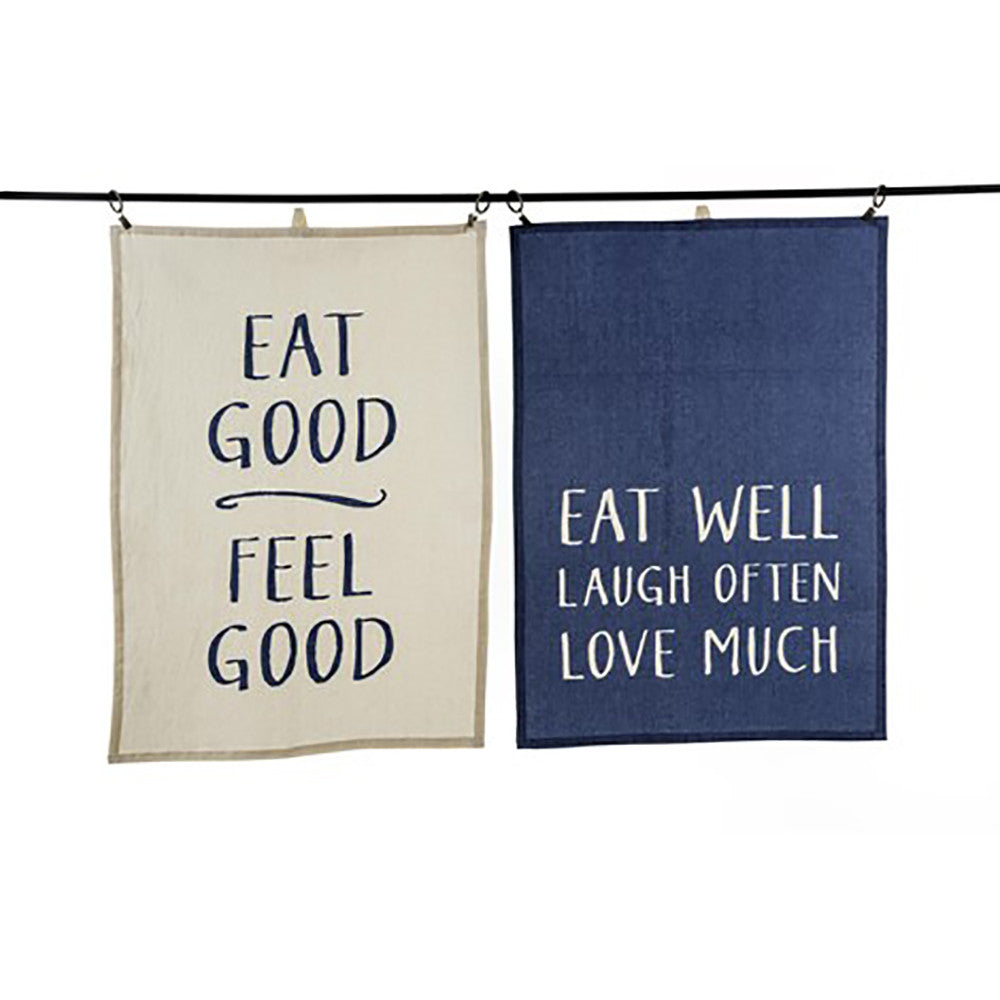 Eat Well Tea Towels