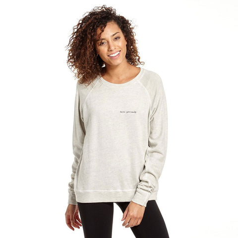 "Good hYOUman The Smith ""Love Yourself"" Sweatshirt"