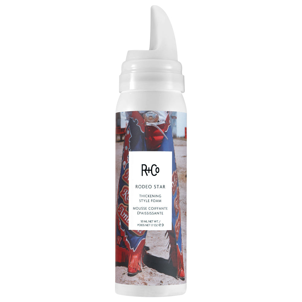 R+Co Rodeo Star Travel Size Thickening Style Foam