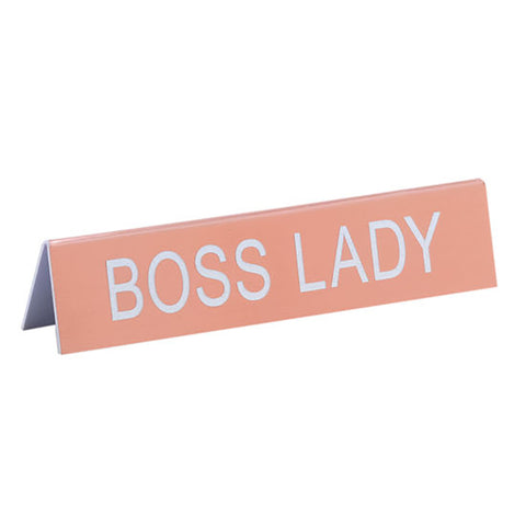 Boss Lady - Desk Sign