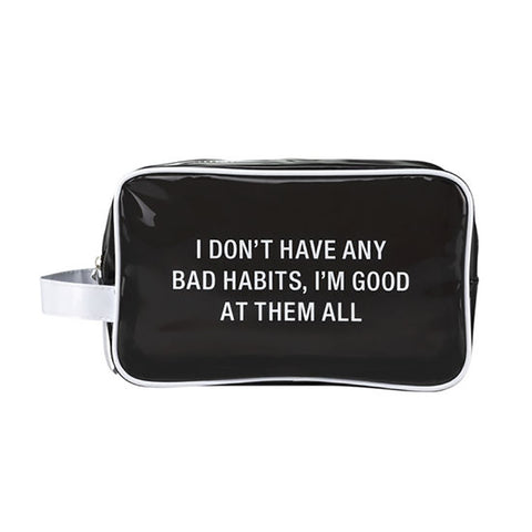 Bad Habits Dopp / Cosmetic Bag