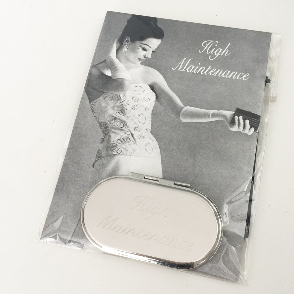 Compact Mirror High Maintenance