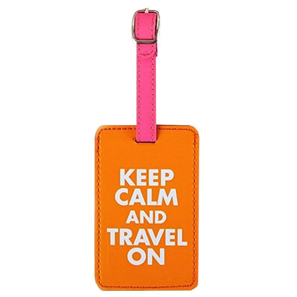 Luggage Tag Keep Calm And Travel On