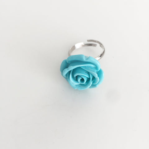 Rose Blue Ring