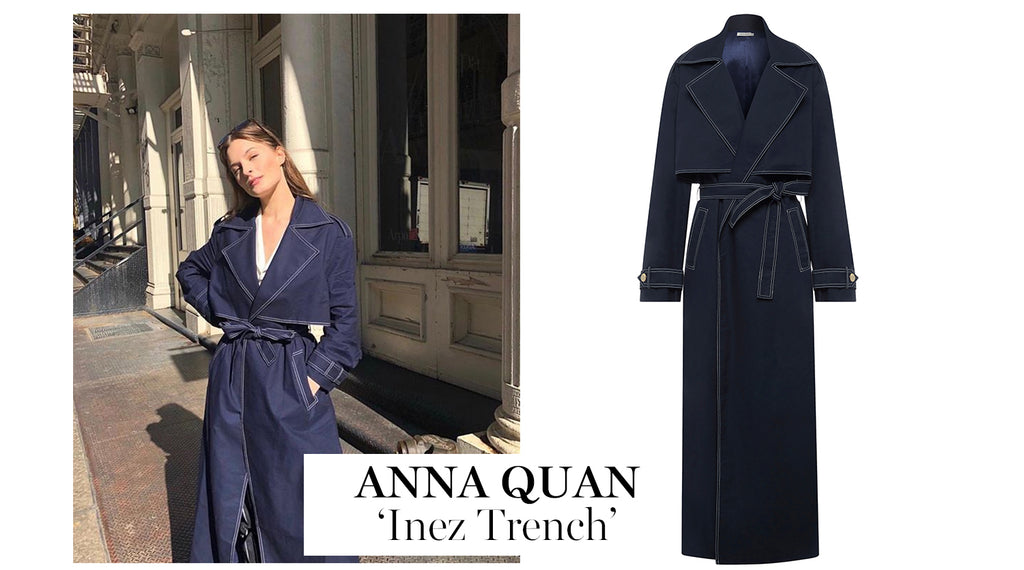 The UNDONE | The Must-Have Trench Coat - Anna Quan 'Inez Trench'
