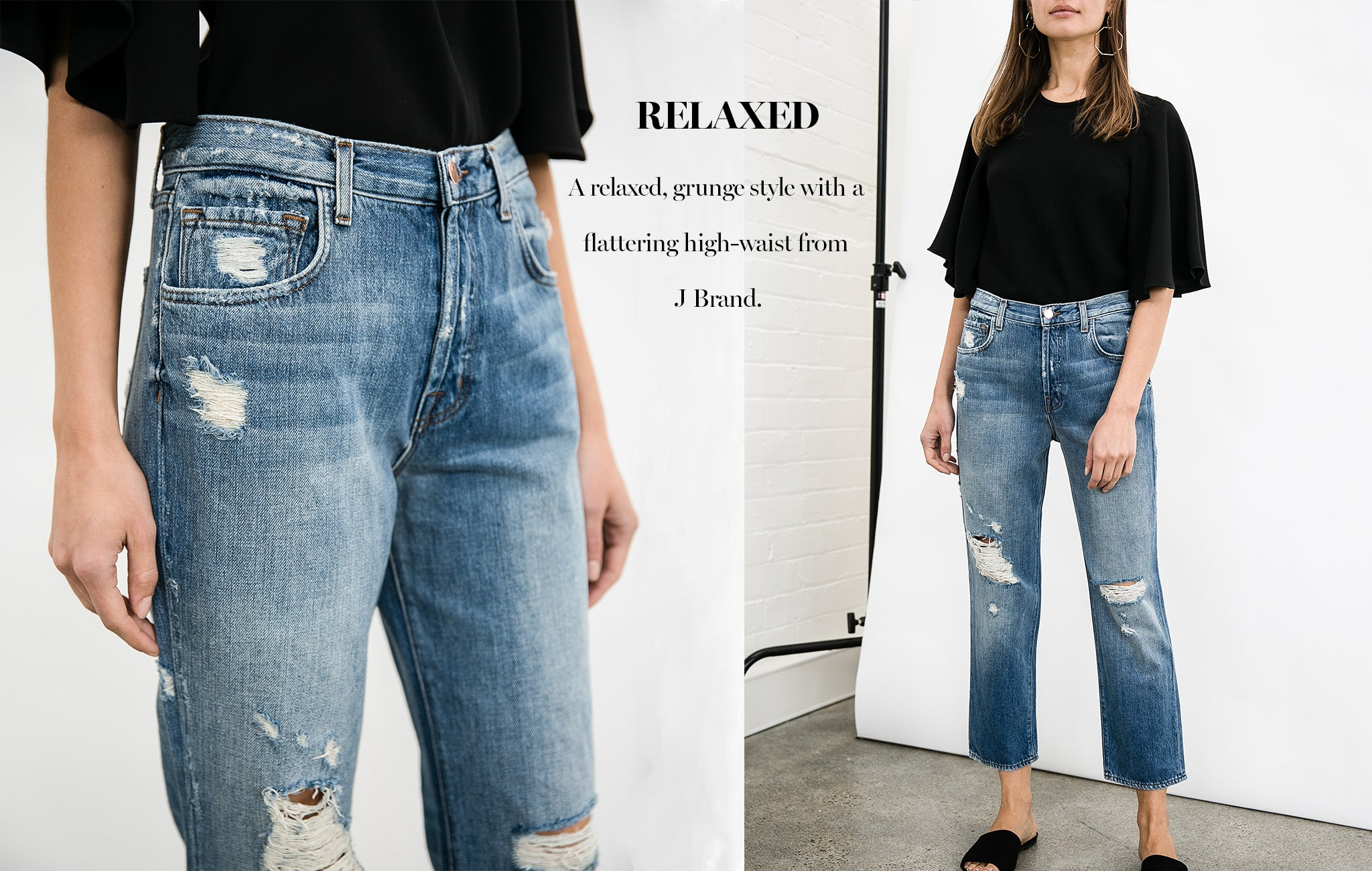 J Brand Denim Ivy High Rise Jean