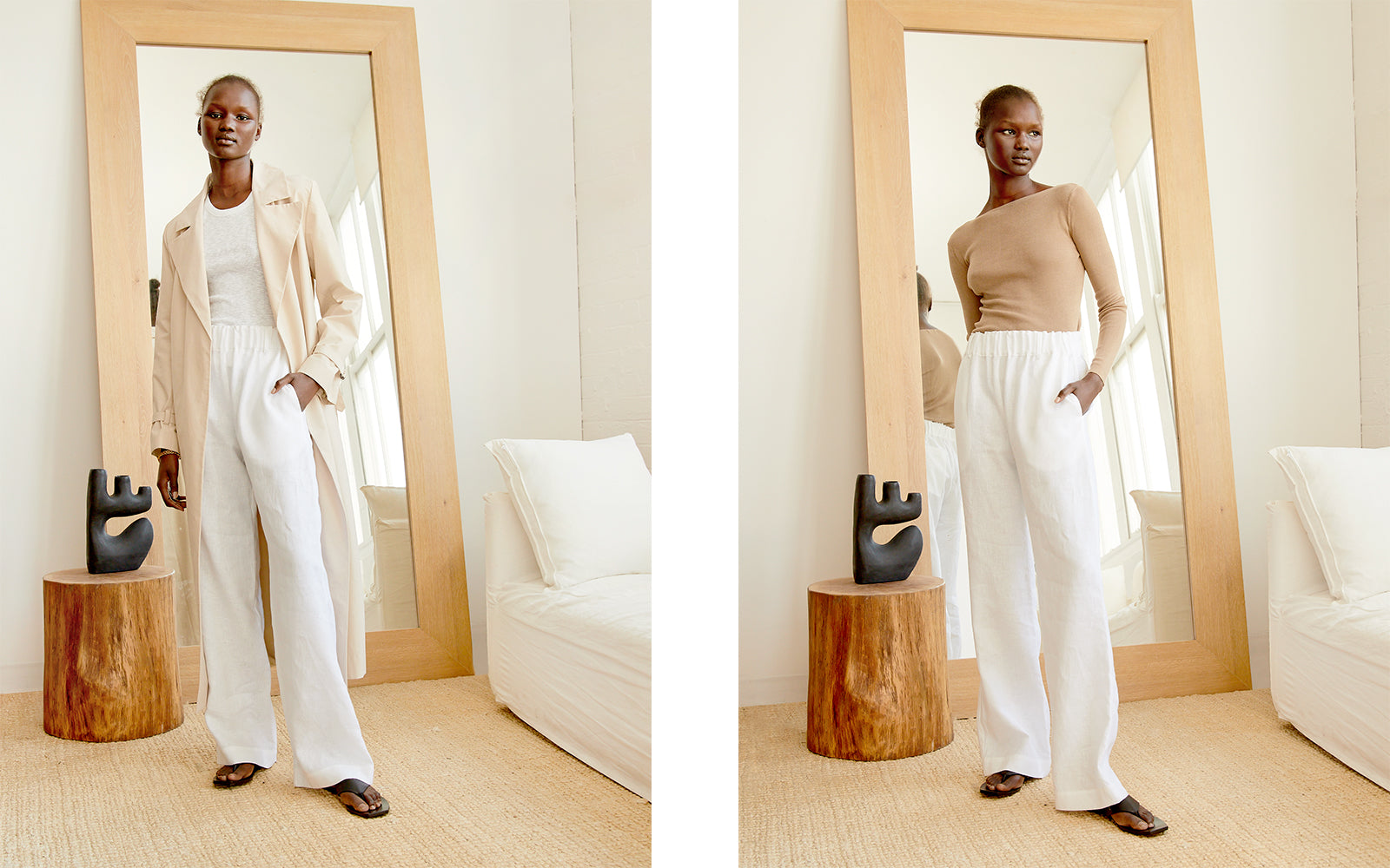 5 ways to style the Matin Pull on Pant