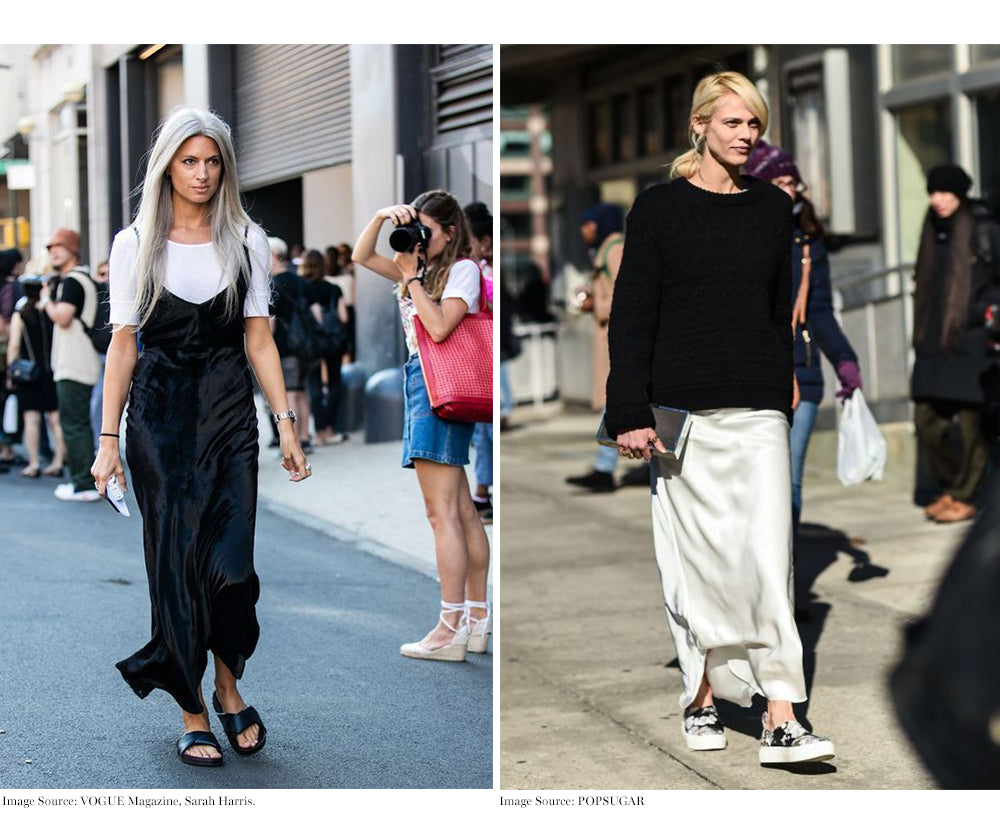 4 Ways To Wear A Slip Dress