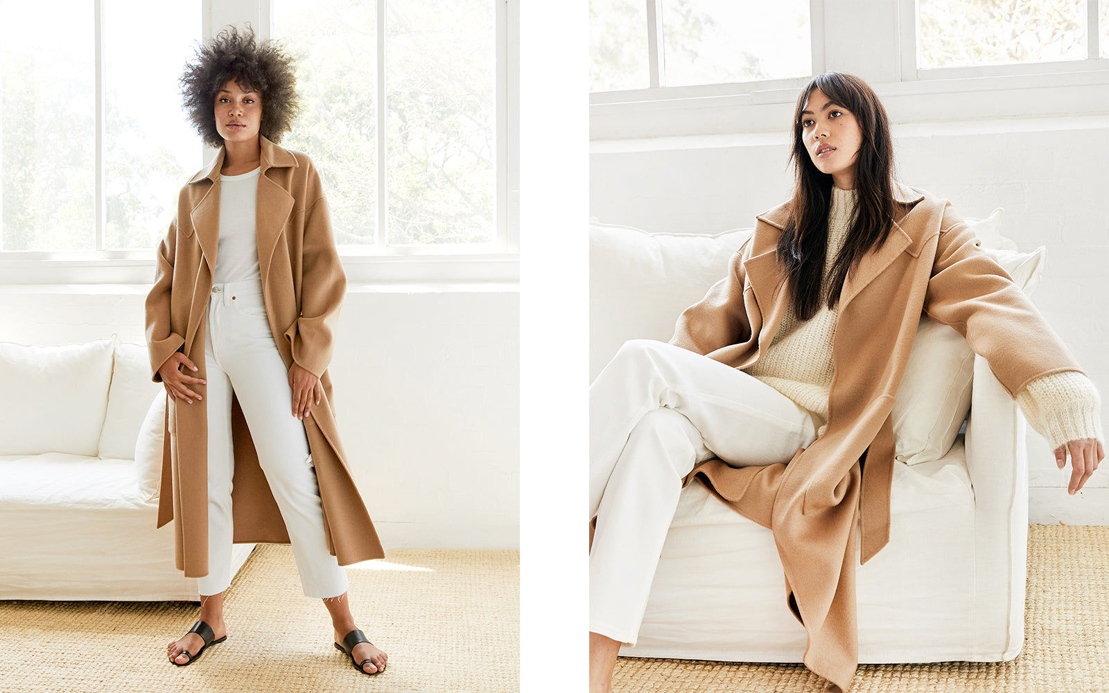 Outfit repeating: camel coat
