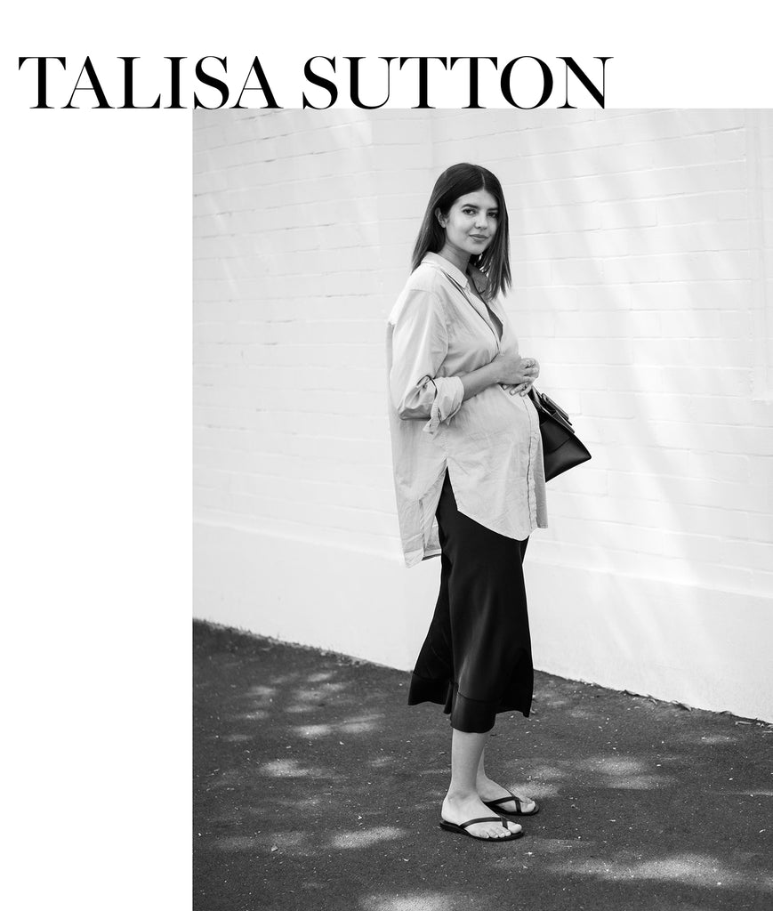 Talisa Sutton pregnancy style
