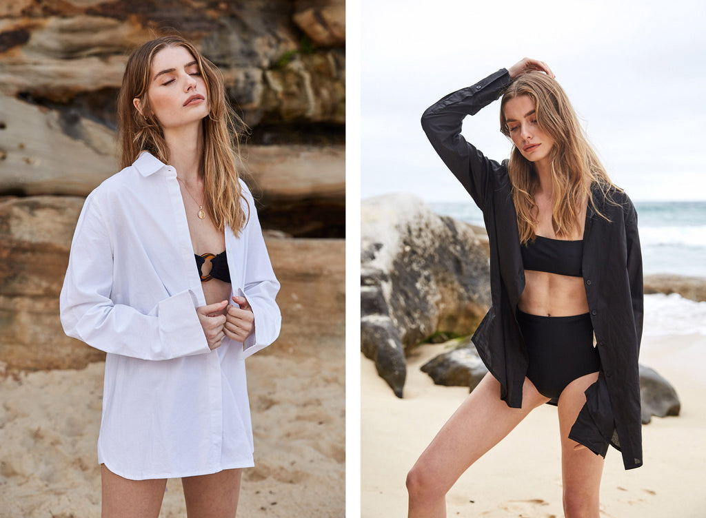The UNDONE Editorial A Day At The Beach | Matteau