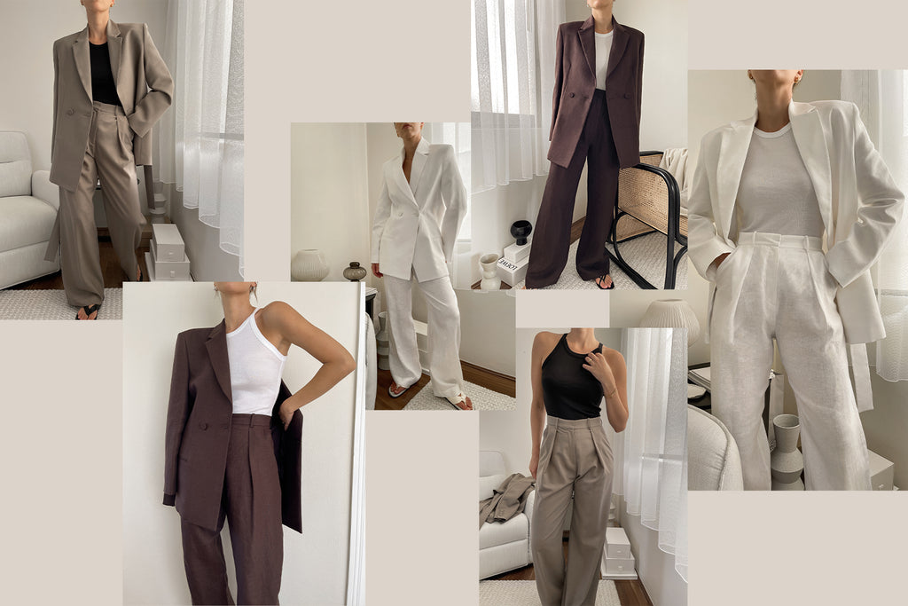 The Undone Woman's Guide to Wearing Suits