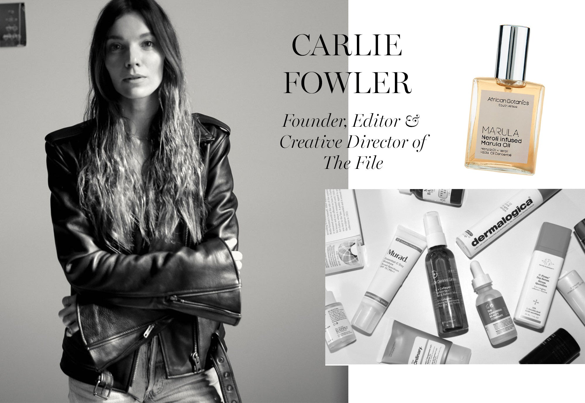 Carlie Fowler, Founder, Editor and Creative Director of The File