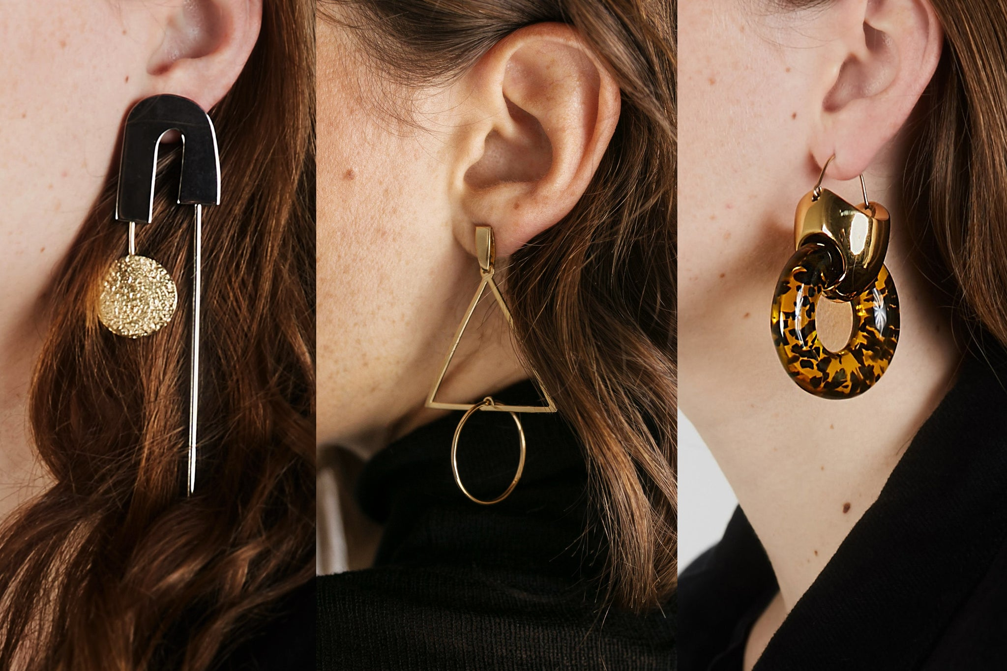 Ellery earrings, Rachel Comey Earrings, Holly Ryan earrings, jewellery trends 2017 maximalist