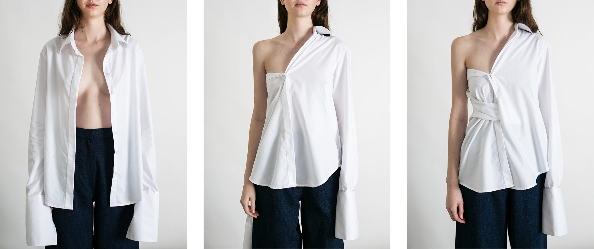 How to fold and tuck shirting anna quan