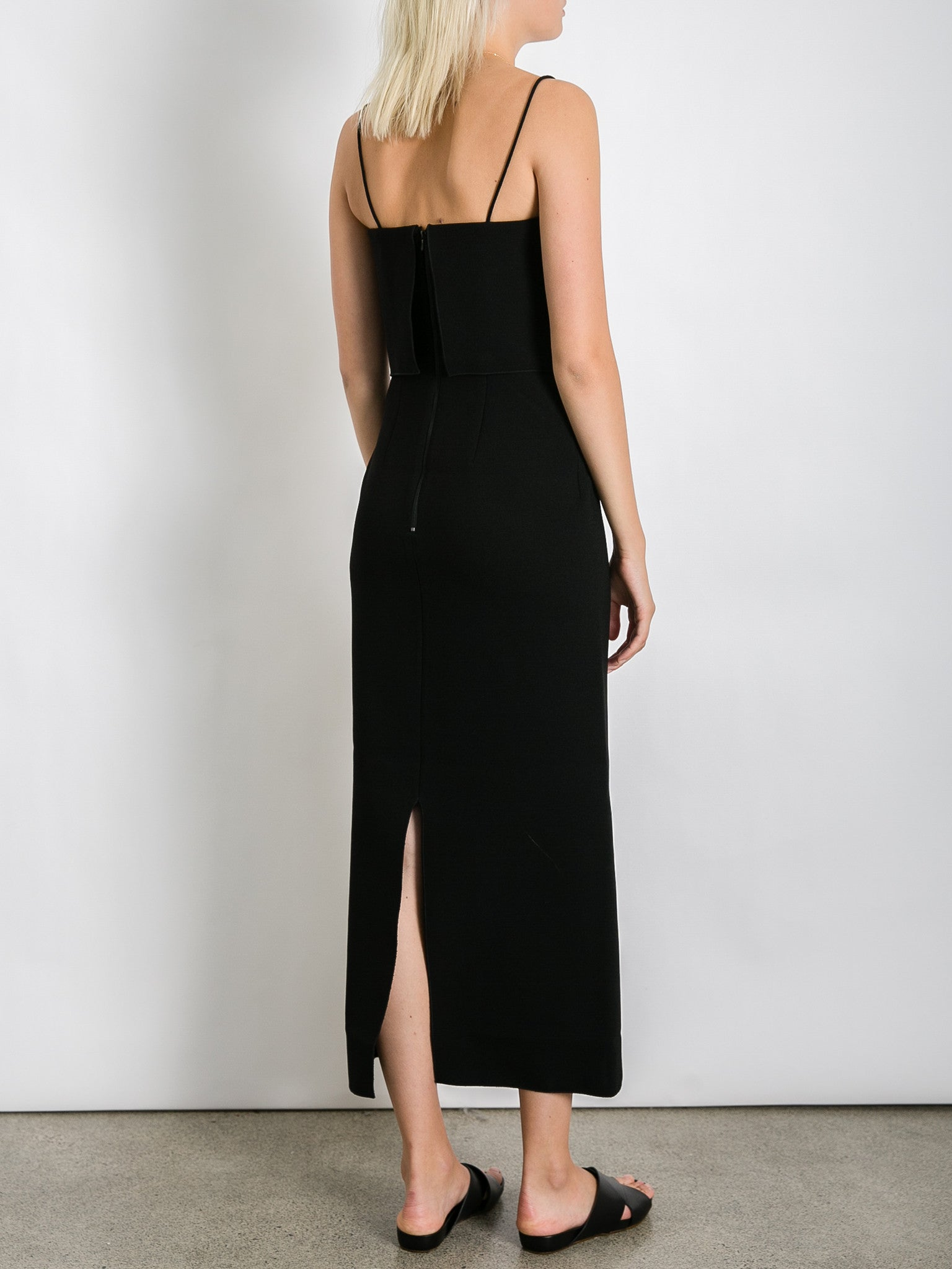 Dion lee black dress