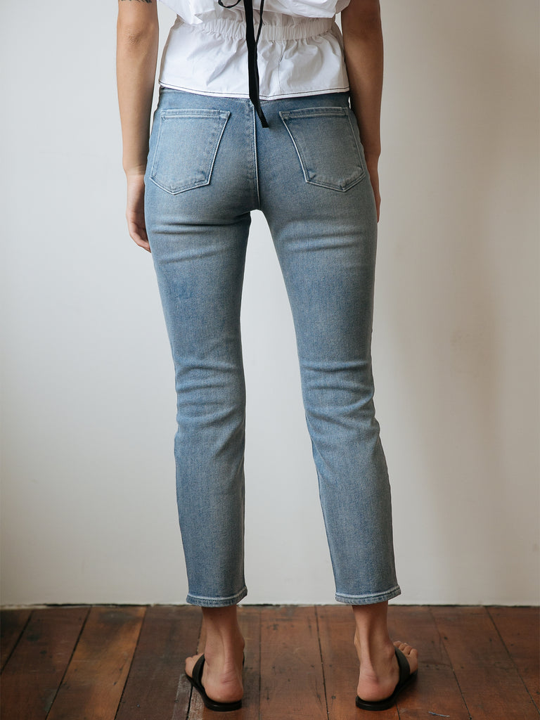 Ruby high-waisted cropped jeans J Brand