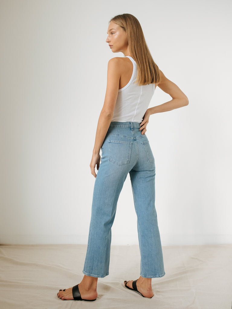 c9140daf68 J Brand | Jules High Rise Straight Jean in Marcella | The UNDONE by ...
