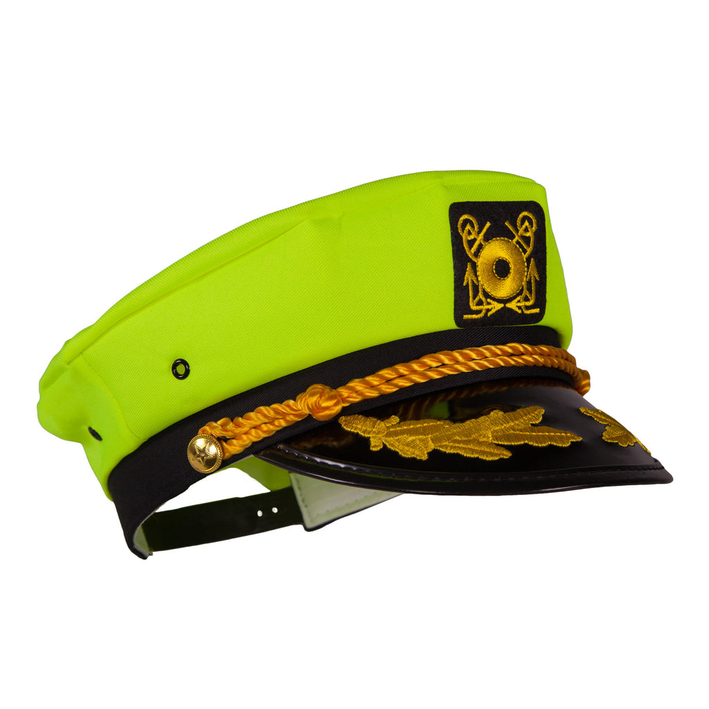 captain ford s neon captain hat neon yellow captain ford retail