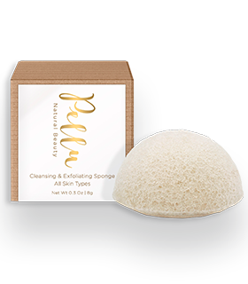 Pellu®Cleansing & Exfoliating Sponge