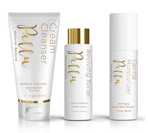 Pellu® Natural Beauty System™ For Normal Skin with Cream Cleanser