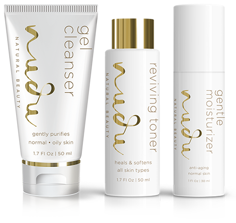 Normal Combination Skin: Nudu®Natural Beauty System