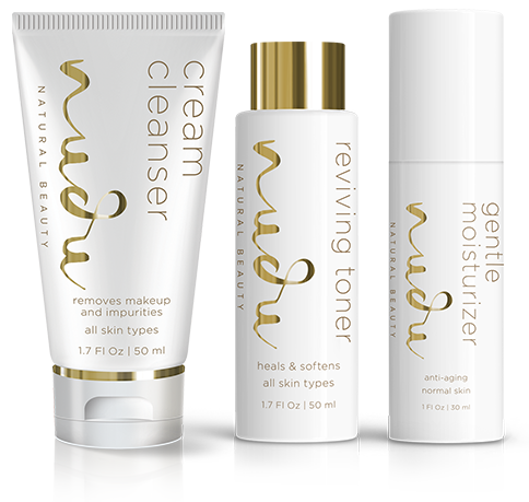 Normal to Dry Skin: Nudu®Natural Beauty System