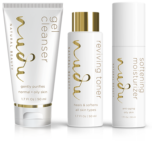 Oily and Combination Skin: Nudu®Natural Beauty System