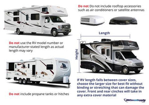 How to Measure for an RV Cover - RV Cover Supply