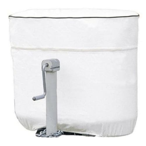 Expedition Propane Tank Cover by Eevelle - White - Double 20LB EXTCW20 - Propane Tank Cover