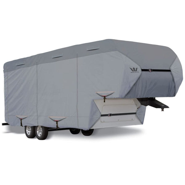 Expedition S2 5th Wheel Cover RV Covers by Eevelle - 29-30 366L x 102W x 120H / Gray - 5th Wheel