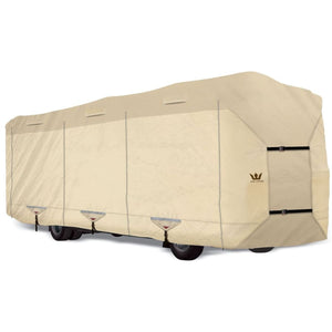 Expedition S2 Class A Cover Motorhome RV Covers by Eevelle - 27-28 - 342L x 105W x 120H / Tan - Class A