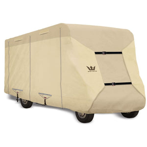 Expedition S2 Class C Cover Motorhome RV Covers by Eevelle - 21-22 270L x 105W x 108H / Tan - Class C