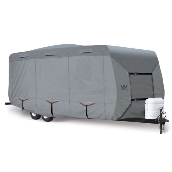 Expedition S2 Travel Trailer Cover RV Covers by Eevelle - 14-16 197L x 102W x 104H / Gray - Travel Trailer