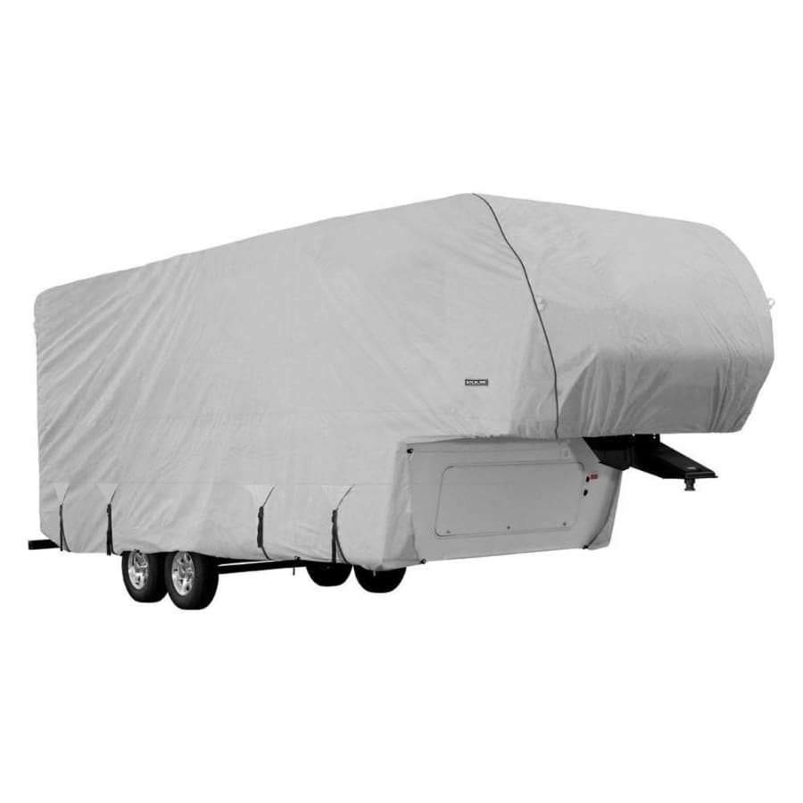Goldline 5th Wheel RV Cover / 5th Wheel Toy Hauler RV Cover by Eevelle - 20-22 / Gray - 5th Wheel & Toy Hauler