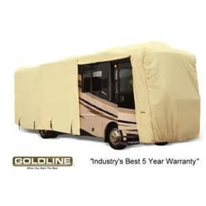 Goldline Class A Motorhome RV Cover by Eevelle - TAN - Class A