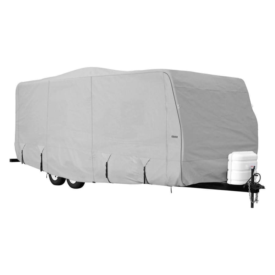 Goldline Travel Trailer RV Cover by Eevelle - 10-12 / Gray - Travel Trailer