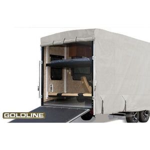 Goldline Travel Trailer Toy Hauler RV Cover by Eevelle - Toy Hauler