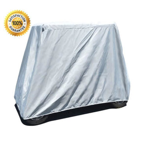Heavy-Duty Golf Cart Cover Performance Poly-Guard® by Carver Industries - Golf Cart Cover