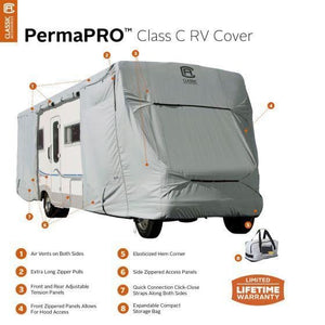 PermaPRO Class C Motorhome RV Cover by Classic Accessories - Class C