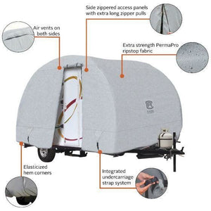 PermaPRO R-Pod Travel Trailer Cover by Classic Accessories - Travel Trailer