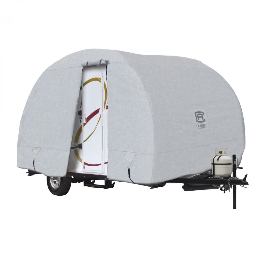 PermaPRO R-Pod Travel Trailer Cover by Classic Accessories - MODEL 2 - FITS: up to 16 2 L Trailer Body Only (without hitch) Total Trailer