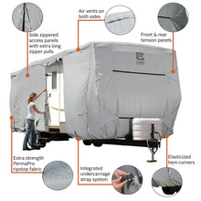 PermaPRO Travel Trailer RV Cover / Travel Trailer Toy Hauler RV Cover by Classic Accessories
