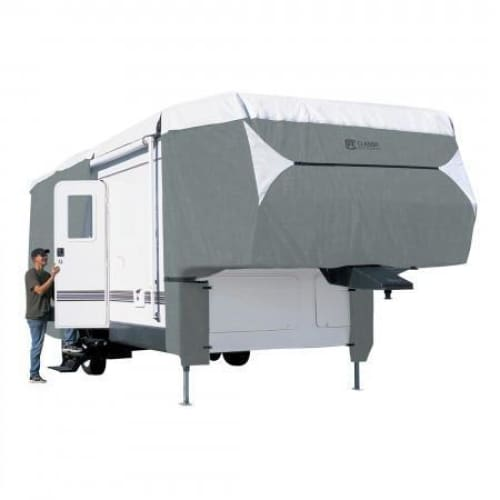 PolyPRO 3 5th Wheel RV Cover by Classic Accessories - MODEL 1 - 2023L 122MAX H - 5th Wheel