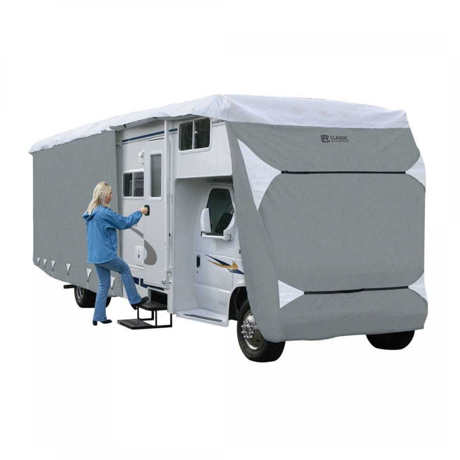 PolyPRO 3 Class C Motorhome RV Cover by Classic Accessories - MODEL 2 - 2023L 122MAX H - Class C