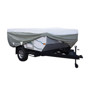 PolyPRO 3 Pop Up Camper Cover RV Covers by Classic Accessories - MODEL - UP TO 8 6L - Pop Up Trailer