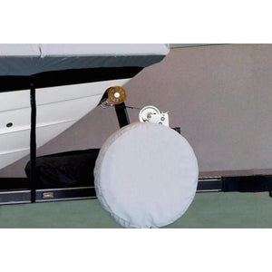 Premium RV Trailer Spare Tire Cover | Boat Trailer Spare Tire Cover | Universal Heavy-Duty Design - Spare Tire Cover