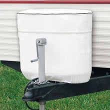 Propane Tank Cover by Classic Accessories (White) - Model 2 Double 20LB / 5 Gallon - Propane Tank Cover